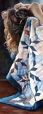 """Steve Hanks, """"In Her Emotions"""", poster, Image 31.5""""h x 11.75"""", almost sold-out"""