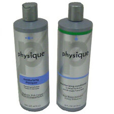 NEW SET OF PHYSIQUE MOISTURIZING DAILY SHAMPOO & CONDITIONER,16 OZ/OUNCE BOTTLES