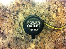 96-00 Honda Civic 12V Power Point Outlet Socket Lighter OEM EM1 EK4 EK9