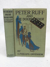E. Phillips Oppenheim  PETER RUFF AND THE DOUBLE-FOUR  A.L. Burt   c.1912