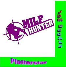Milf Hunter Bitch Slut Hater JDM Sticker aufkleber oem PS Power fun like Shocker