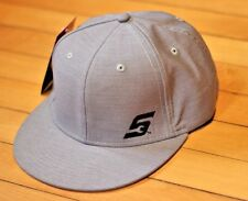 NEW Snap On Tools GRAY Flatbill baseball cap Hat Gear Threads FREE ship to USA