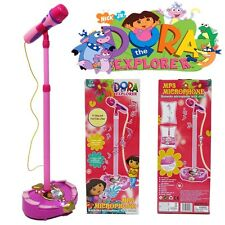 DISNEY DORA THE EXPLORER TOY EDUCATION MUSICAL MICROPHONE MUSIC & SOUND & LIGHT