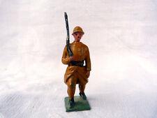 Plomb creux - Poilu tenue marron avec fusil sur l'épaule.