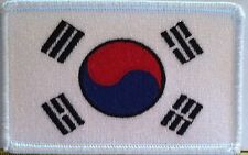 SOUTH KOREA Flag Patch with VELCRO® brand fastener Military Police Emblem #8