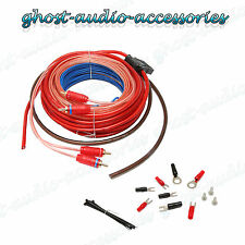 10 awg gauge Amplifier Amp Wiring Kit for Edge Vibe car audio subwoofer amp