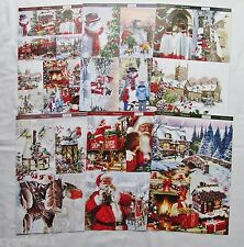 SALE Hunkydory 6 x A4 Sheets The Joy Of Christmas Toppers