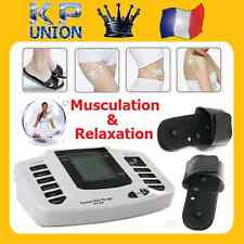 MASSAGE ELECTROSTIMULATION CORPS PIED MINCEUR MUSCULATION ACUPUNCTURE RELAXATION