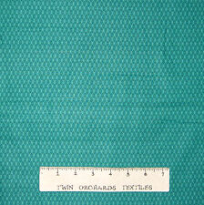 Calico Fabric - Small Emerald Green Diamond Lyndhurst - Northcott OOP YARD