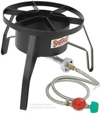 Propane Gas Burner High Pressure Stove Outdoor Turkey Deep Fryer Seafood Boil