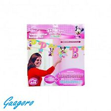 DISNEY MINNIE MOUSE ADD-AN-AGE JUMBO LETTER BIRTHDAY BANNER PARTY SUPPLIES DECOR