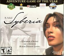 B.Sokal SYBERIA PC Game CD-ROM Adventure NEW & SEALED