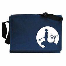 Sora Moon Kingdom Hearts inspired Navy Blue Messenger Shoulder Bag