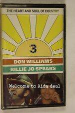 The Heart And soul of Country Don Williams And billie jo (Audio Cassette Sealed)