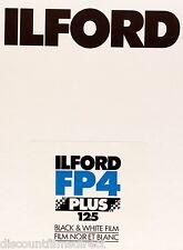 1 x Box 25 sheets ILFORD FP4  4x5 Sheet Film(5x4in)