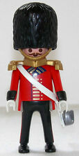 ROYAL GUARD OFFIZIER Playmobil zu Rotrock Soldat 5581 4577 Garde Top Custom 1410