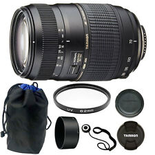 Tamron AF 70-300mm Macro Zoom Lens for Canon EOS Digital SLR Camera + 62mm Kit