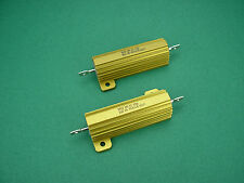 2 x 1000 Ohm 50w Non-Inductive Power resistors - > 300b TUBE AMP AMPLIFICATORE Tubi
