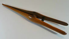 """PAIR OF ANTIQUE EDWARDIAN LARGE WOODEN GLOVE STRETCHERS 11.5"""""""