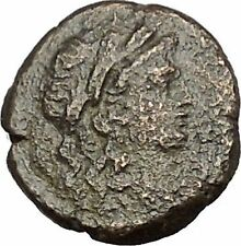 ELAIA in AEOLIS 2-1CenBC Demeter Torch Authentic Ancient Greek Coin i51990