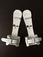 New Bailie Gymnastics Girls Dowel Uneven Bars Small & Narrow Buckle Grips Size L