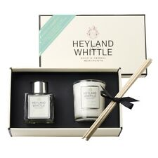 Greentea & Grapefruit Mini Diffuser & Scented Candle Gift Set Heyland & Whittle