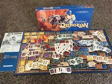 Vintage 1992 TSR The Classic Dungeon Fantasy Board Game 100% COMPLETE