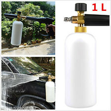 1L Adjustable Snow Foamer Lance Washer Car Wash Gun Jet Pressure Washer Bottle