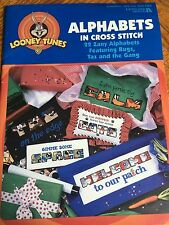 Looney Tunes Alphabet in Cross Stitch Leaflet