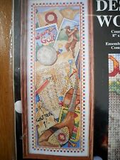 Game of Golf Cross Stitch Kit by Design Works - NEW