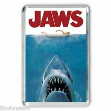 RETRO NOSTAGIA ' JAWS' MOVIE POSTER JUMBO Fridge Magnet