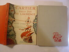 Cartier Sails the St. Lawrence, Esther Averill, Feodor Rojankovsky, DJ, 1956 1st