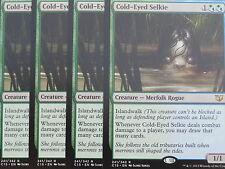 XXX 4x Cold-eyed Selkie inglés comandante 2015 (merfolk Rogue) nm/mint XXX XXX