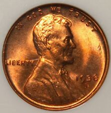#~☆GORGEOUS☆~ MS-66RD 1936-S Lincoln Wheat Cent Penny NGC ONLY ONE on Ebay!!