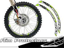 14 & 17 INCH DIRT BIKE RIM PROTECTORS WHEEL DECALS TAPE GRAPHICS MOTORCYCLE