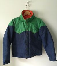 Vintage Powderhorn Mountaineering Down Jacket Jackson Hole, WY M Western