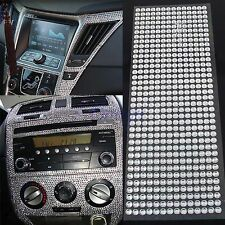 504Pcs Car Auto Interior Exterior Sticker Bling Crystal Design Rhinestone 6mm TW