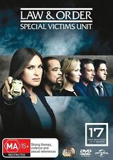 Law And Order - Special Victims Unit : Season 17 (DVD, 2016, 6-Disc Set) New R4
