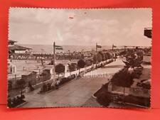 LIGNANO SABBIADORO Lungomare Spaziergang dem Meer Udine vecchia cartolina