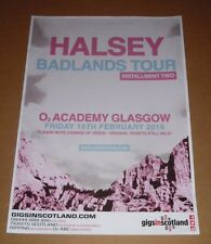 Halsey - rare tour concert / gig poster - feb 2016 badlands tour