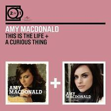 Macdonald, Amy: 2 For 1: This Is The Life/A Curious Thing, 2 CDs