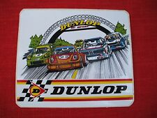 1970's vintage  dunlop  tires decal,le mans  grand prix ,BMW ,PORSCHE,FORD CAPRI