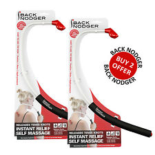 BACK NODGER x 2 Self Massager Back Neck Pain Relieves Muscle Tightness Knots