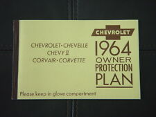 1964 Chevrolet Impala SS Coupe 41447L Factory GM Owners Protection Plan Manual