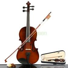 High quality Acoustic Violin 1/4 size  Natural + Case+ Bow + Rosin