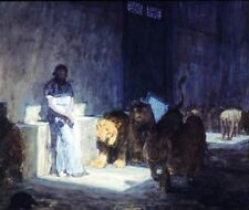 Oil Painting repro on Canvas Henry Ossawa Tanner Daniel In The Lions Den