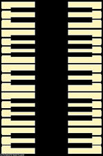 4x6 Area Rug Music Piano Keys Musical Studio Room Play keyboard Time NEW