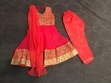 Baby Girl Salwar Kameez Suit Desi Designer Dress Special Occasion 18M-2 Y