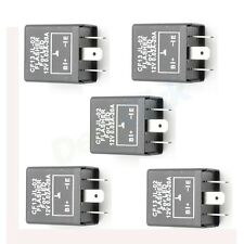 OTY(5) New 3-pin CF13 Electronic LED 12V 50A Flasher Relay no Hyper Blink Flash
