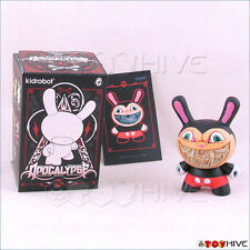 Kidrobot Dunny 2012 Apocalypse vinyl figure Mickey Grin by Ron English with box